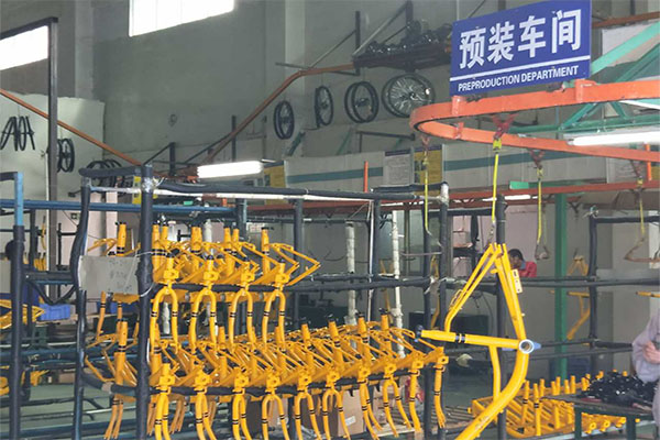 OEM bicycle  sinbao preproduction department