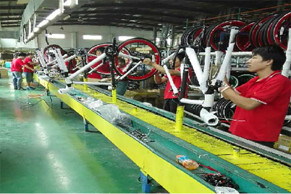 OEM bicycle  sinbao assembly department