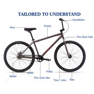 Factory wholesale Kids Bicycle For Philippines - SINBAO BMX 26 – Sinbao